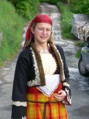 Traditional Rhodope  dress